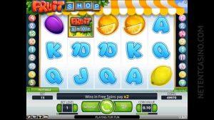 Fruit Shop Slots Gameplay