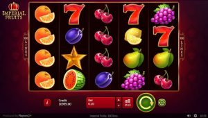 Imperial Fruits Slots Gameplay